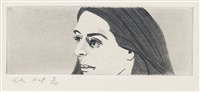 small head of ada by alex katz