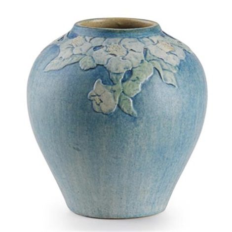 Small Vase With Trumpet Flowers By Anna Frances Connor Simpson On Artnet