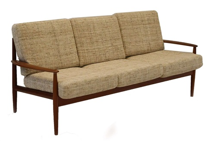 A 1960s Danish Teak Three Seater Sofa By Grete Juel Jalk