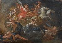 allégorie de l'aurore by francesco (cecco bravo) montelatici