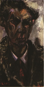 porträt erich kästner by helmut booz