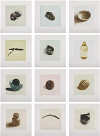 12 objects, 12 etchings (portfolio of 12) by rachel whiteread
