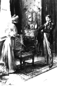 standing couple in interior by william thomas smedley