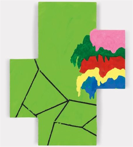 fracture and spill by mary heilmann
