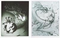 untitled (set of 4) by inka essenhigh