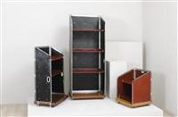 tre mobili contenitori (3 works) by toni cordero