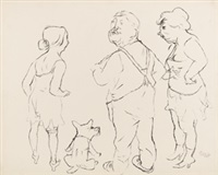 trautes heim by george grosz