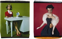 untitled (+ another; 2 works from barbie millicent roberts: an original series) by david levinthal