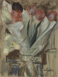vases de tulipes by etienne cournault
