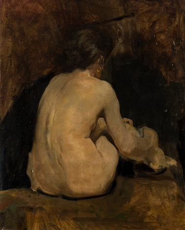 desnudo femenino by joaquin sorolla y bastida