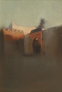 paysage de marrakech by françois sasmayoux
