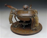 a chafing dish by joseph heinrich