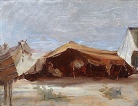le campement by louis joseph anthonissen