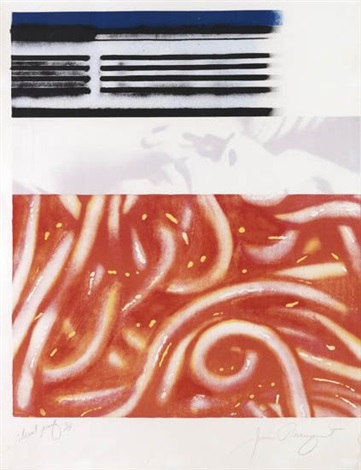 forehead i by james rosenquist