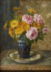 vase de fleurs by pierre garnier