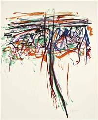 tree ii by joan mitchell