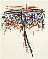 tree ii by joan mitchell