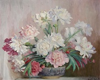 floral still life by beatrice hagarty robertson