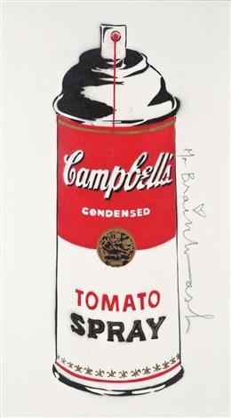 tomato spray by mr. brainwash