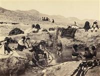 scènes de vie et vues de biskra et laghouat, algérie by jean-baptiste alary & jean geiser
