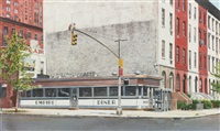empire diner, 1971 by john baeder