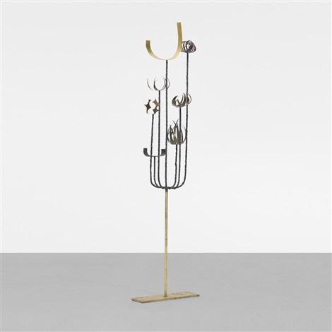 untitled floor sculpture by paul evans