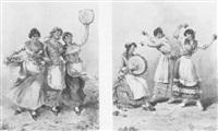 les trois danseuses by gennaro avitabile