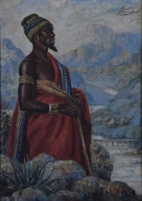 african man by kent cottrell
