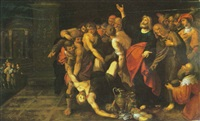 the death of ananias by hieronymus francken the elder