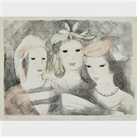le chant by marie laurencin