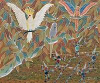 australian birds by henri bastin
