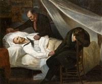 la mort de géricault by ary scheffer