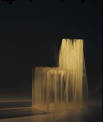 c1 chair (prototype; from the solid series) by patrick jouin