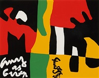 untitled, from ten works + ten painters by stuart davis