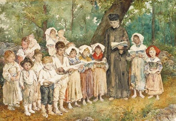 an outdoor childrens choir rome by daniele bucciarelli