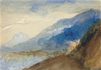 the lake of annecy, autumn by john ruskin