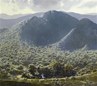 zuurberg landscape with child by neil rodger