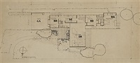 floor plan by richard neutra