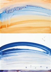 paysages (2 works) by dora maar