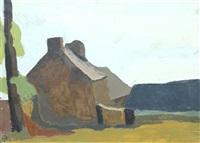 maisons, bretagne by maurice le scouézec