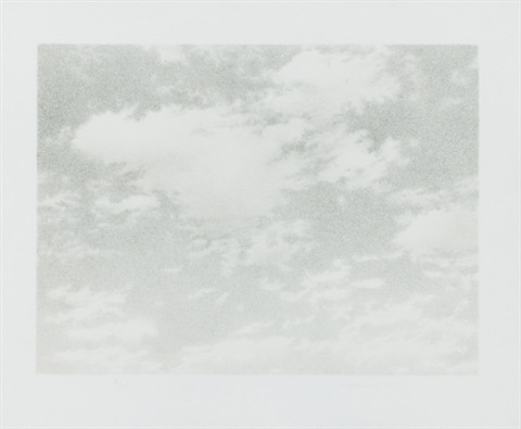 untitled sky by vija celmins