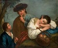 fanciulla dormiente by domenico maggiotto