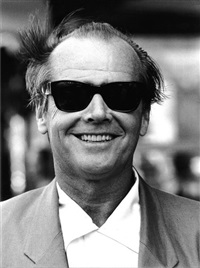 jack nicholson, septembre by michel ginies