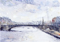 pont de la tournelle by christian renard
