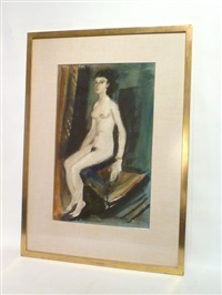 jeune femme nue by charles counhaye