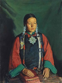 sona kypi, a tibetan woman by francis helps