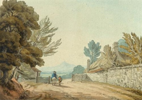 the sugar loaf mountain monmouthshire by john white abbott