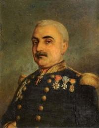 portrait du maréchal pélissier by charles camino