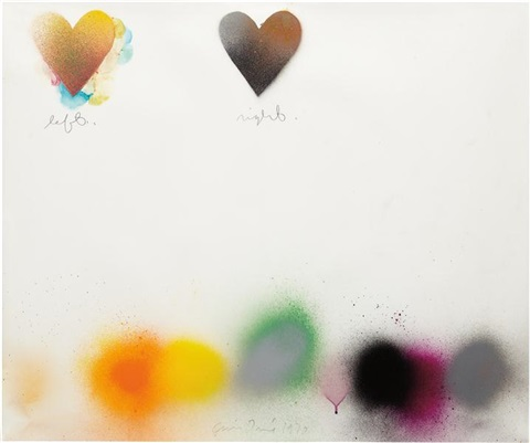 untitled left right vi by jim dine