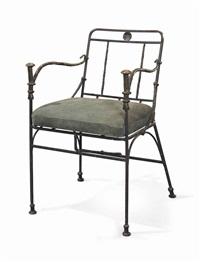 fauteuil aux pommeaux de canne by diego giacometti